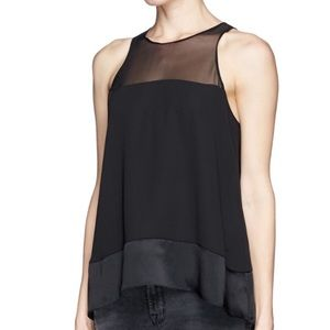 Elizabeth and James Silk Two Toned Tank